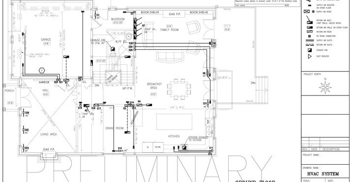 H.V.A.C Drawings and Plans - Well Built | Hvac Drawings Pictures |  | Well Built House